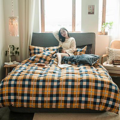 2019新款秋冬绒-13372棉绒YB亚博在线娱乐系列 床单款三件套1.2m(4英尺)床 绒-安道尔