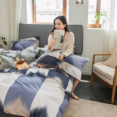 2019新款秋冬绒-13372棉绒YB亚博在线娱乐系列 床单款三件套1.2m(4英尺)床 绒-维多利亚
