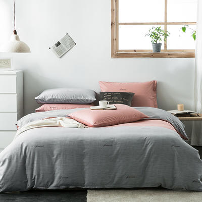 2020新款-全棉英伦风四件套 床单款三件套1.2m(4英尺)床 圣菲