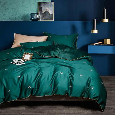 2020新款-60支长绒棉数码印花四件套 床单款四件套1.5m(5英尺)床 时尚芭蕾