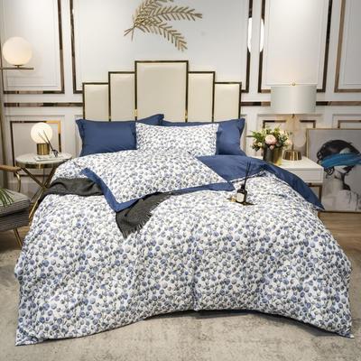 2020新款-水洗真丝四件套 床单款三件套1.2m(4英尺)床 欣心