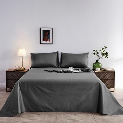 2020新款-全棉40H系列刺绣-单床单 245*250 高级灰