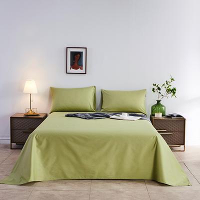 2020新款-全棉40H系列刺绣-单床单 245*250 果绿