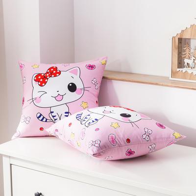 2020新款-全棉大版单品-抱枕 45x45cm/一只含枕芯 花花