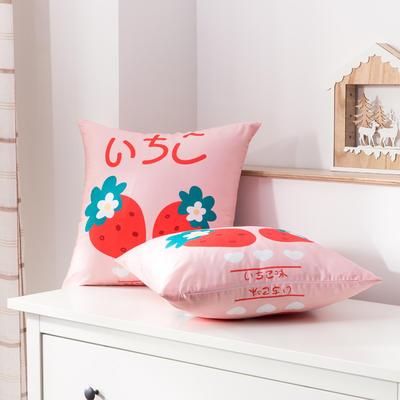 2020新款-全棉大版单品-抱枕 45x45cm/一只含枕芯 早安