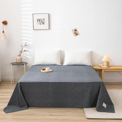 全棉简约无印织标系列(单床单) 180cmx230cm 爱琴海
