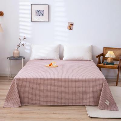 全棉简约无印织标系列(单床单) 180cmx230cm 贝塔