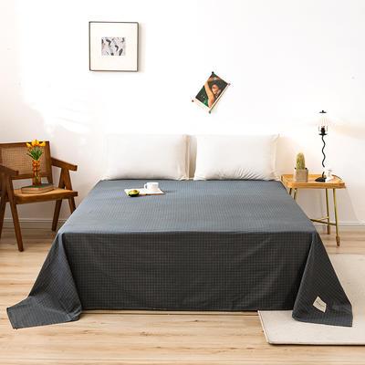 全棉简约无印织标系列(单床单) 120cmx230cm 格兰