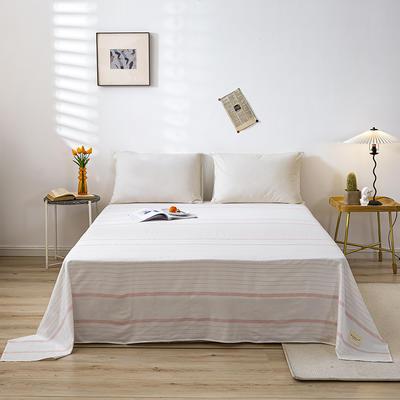 全棉简约无印织标系列(单床单) 120cmx230cm 谷雅