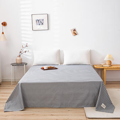 全棉简约无印织标系列(单床单) 120cmx230cm 慢生活