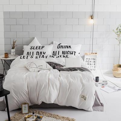 北欧极简新款套件(在一起) 床笠款1.5m(5英尺)床 1
