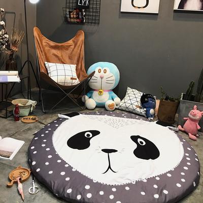 Ins款系列波点点地垫 直径1.5m 波点点 熊猫Panda