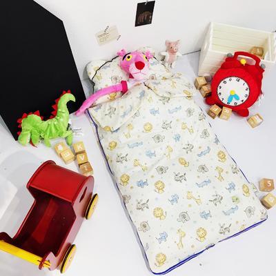 安心牌睡袋升级加大版-彩色系列(80*110cm) 小狮子和朋友们
