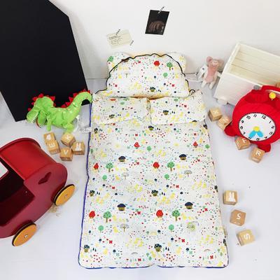 安心牌睡袋升级加大版-彩色系列(80*110cm) 小鸭子们