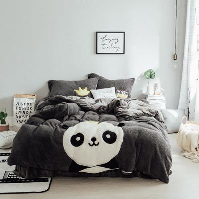 玮大宝 绒系列套件 1.5m(5英尺)床 曹先生的熊喵