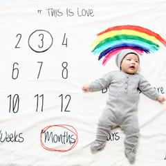 羊绒衫礼盒 适合0到12个月 羊绒衫礼盒
