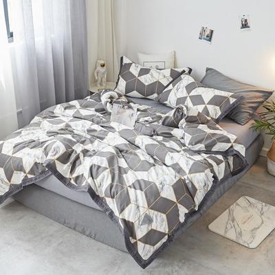 2018新款-荷尔蒙 织带风四件套 1.2m(4英尺)床 金砖