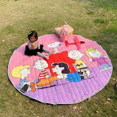 2019新款-防水收纳地垫野餐垫(室外) 200*200cm 一家亲