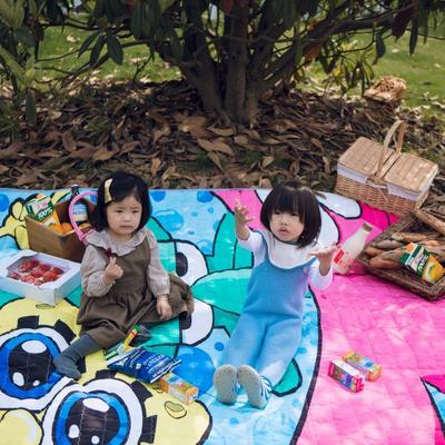2019新款-防水野餐垫隔尿垫地垫2 140*220 海绵宝贝
