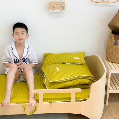 2019新款-幼儿园便携式床垫套件 夹棉床垫60*120cm 焦糖玛奇朵