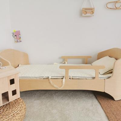 2019新款-幼儿园便携式床垫套件 夹棉床垫60*120cm 奶油糖