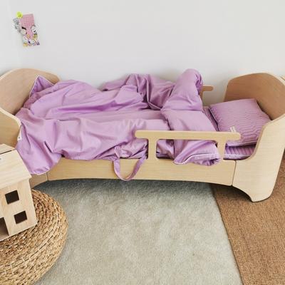 2019新款-幼儿园便携式床垫套件 夹棉床垫60*120cm 葡萄糖