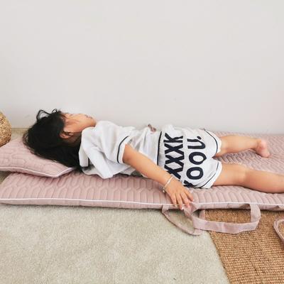 2019新款-幼儿园便携式床垫套件 夹棉床垫60*120cm 太妃糖