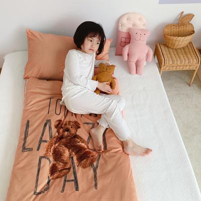 2019新款-棉加绒睡袋70*145 毛绒熊