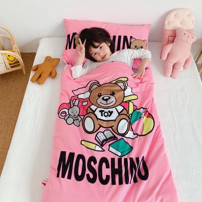 2019新款-棉加绒睡袋70*145 玩具熊