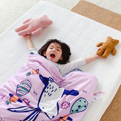 2019新款-棉加绒睡袋70*145 小白兔