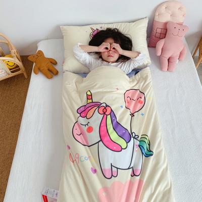 2019新款-棉加绒睡袋70*145 小彩马