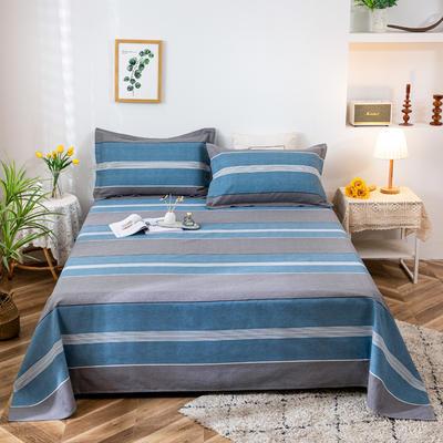 2021新品老粗布床单三件套 200x235cm单床单 回归自然