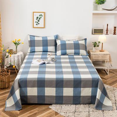 2021新品老粗布床单三件套 200x235cm单床单 西欧风情