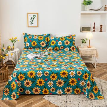 2021新品老粗布床单三件套