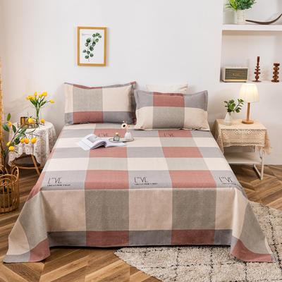 2021新品老粗布床单三件套 200x235cm单床单 音乐奏章