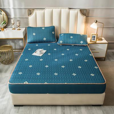 2021新款凉感丝乳胶软席床笠款三件套 1.5m床笠款三件套 梦想家