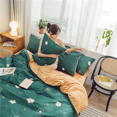2019新款-棉加绒系列套件 1.2m-1.35m床(床单款三件套) 万花筒