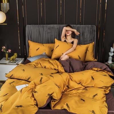 2020新款全棉60s長絨棉輕奢款系列四件套 1.2m床單款三件套 安然