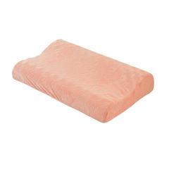 【新品】五色按摩加长款记忆枕 粉