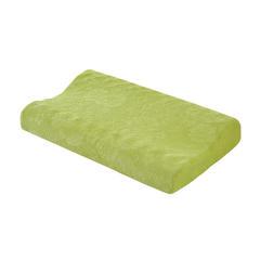 【新品】五色按摩加长款记忆枕 绿