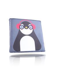 卡通双面坐垫 45*45*3.5cm 音乐企鹅
