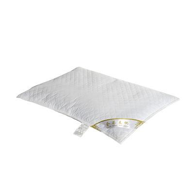 荞麦枕-纯棉绗绣荞麦枕 大号单只(45*72cm)