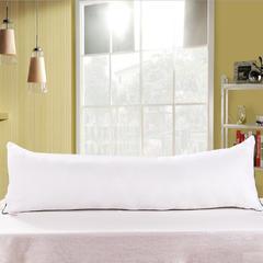厂家直销双人枕头枕芯可水洗1.2/1.5/1.8米长枕羽丝棉枕芯大枕头 48*180