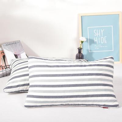 泰国乳胶枕头天然 乳胶枕碎乳胶颗粒填充颈椎枕芯记忆枕厂家直销 蓝色