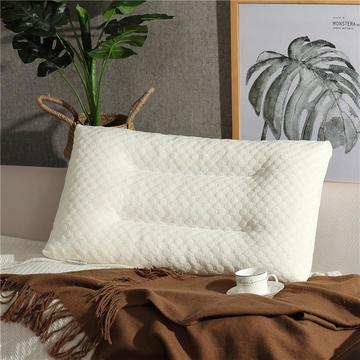 乳胶枕水立方乳胶颗粒枕头枕芯