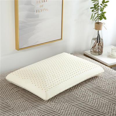 泰国乳胶枕头面包乳胶枕 裸芯+内套+外套 40*60