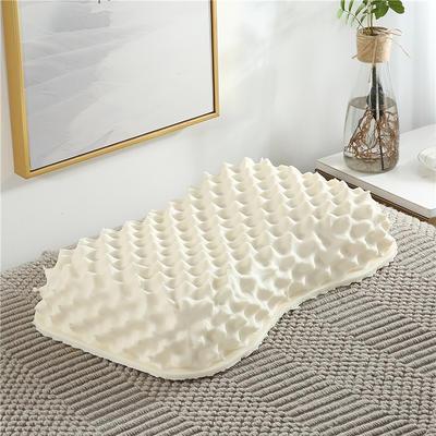 泰国乳胶枕头 花生枕女士按摩枕 美容枕  裸芯+内套+外套 女士按摩枕