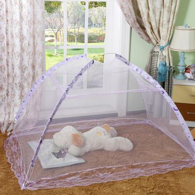 儿童蚊帐80*140cm 紫