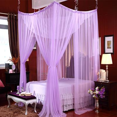 艾晶美 吊顶蚊帐  圆顶蚊帐 欧式风情多变蚊帐 所有床通用 紫色