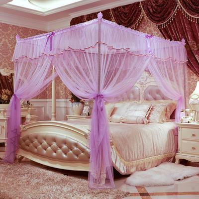 爱丽丝宫廷蚊帐 120*200 紫色
